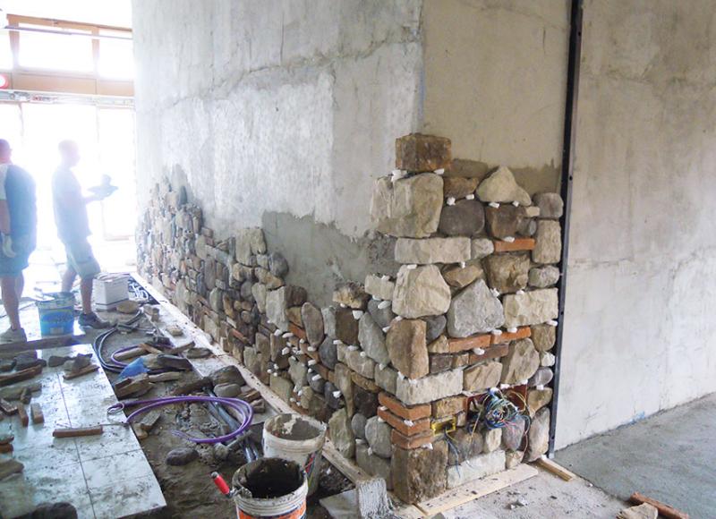 Posa pavimento posa rivestimento posa pietra ricostruita - Bagno in pietra ricostruita ...